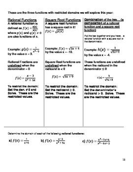 Unit #4 Functions