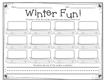 Unit 4 Games for Reading Wonders Grade 1