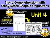 Unit 4 - Grade 1 - Reading Wonders – Story Comp. Graphic Organizer Bundle