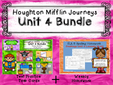 Unit 4 Houghton Mifflin Journeys MEGA BUNDLE (Homework & Question Task Card)