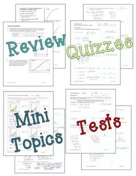 Calculus: Integration Review & Assessment Bundle