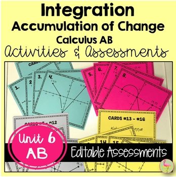 Calculus: Integration Review & Assessment Bundle