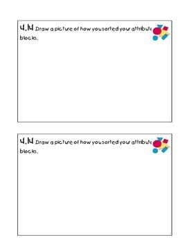 Kindergarten Math Journal 4
