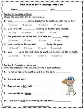 Unit 4 Language Arts Tests Bundle ~ 2nd Grade ~ Journeys ~ Mr. Tanen, Dex, etc.