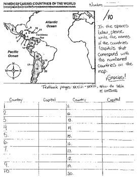 Unit 4 Lesson 1 - Spanish I - Avancemos - Crossword