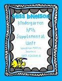 Unit 4 Lesson 18 Kindergarten Journeys HMH Supplemental Unit