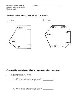 Interior Angles Of A Polygon Worksheets   Teaching Resources   TpT as well Interior angle of irregular polygon   2nd grade   Angles worksheet additionally Angles Of Polygons Worksheets Math Oicvnew Club Maths Year 8 moreover Regular Polygons Worksheet Area Of Regular Polygons Worksheet further Geometry Worksheet  Polygons and Interior Angle Sums by My Geometry furthermore  furthermore polygon worksheets – irescue club additionally Interior Angles  Exterior Angles and the Sum   Polygon Worksheets also Unit 4 Lesson 2  Angles of a Polygon Worksheet   TpT in addition interior angles of polygons math – sunfrogshirts club likewise Finding Interior And Exterior Angles Of A Polygon Worksheet further interior exterior angle – papakambing further Interior And Exterior Angle 4 Practice Interior And Exterior Angles also Measuring indoors Sum Of interior Angles Of A Polygon moreover Finding Interior And Exterior Angles Of Polygons Worksheets together with Missing Angles Worksheet Interior Angles Of A Triangle. on interior angles of polygons worksheet