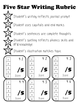 Unit 4 Main Selection Differentiated Journal- Grade 1 Reading Street 2013