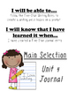 Unit 4 Main Selection Differentiated Journal- Grade 1 Read