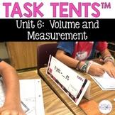 Task Tents™ - Math Edition {5th Grade Unit 6}