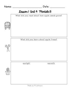 ReadyGEN Unit 4 Module B Work Pages