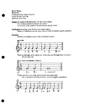 Unit 4 Notes: Counting, Dotted/Tied Rhythms, Rhythmic Dictation