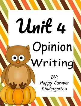 Unit 4 Opinion Writing