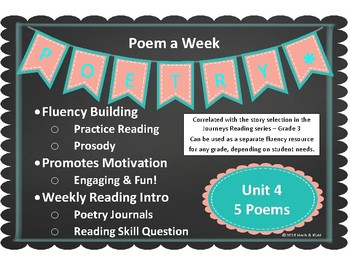 Unit 4 - Poem of Week - Fluency Fun!
