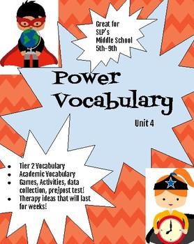 Unit 4 Power Vocabulary