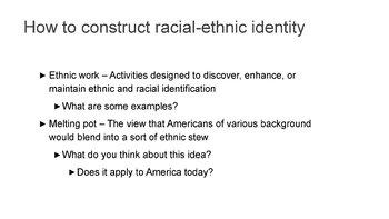 Unit 4 - Race and Ethnicity Bundle