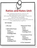 Unit 4 - Ratios and Unit Rates (6th Grade)