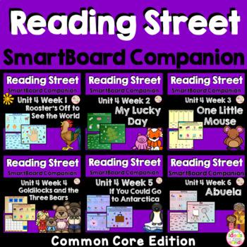 Unit 4 Common Core Edition SmartBoard Companion Kindergarten