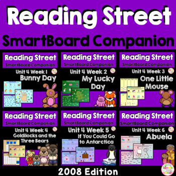 Unit 4 SmartBoard Companion Kindergarten
