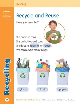 Unit 4: Recycling (Skill Sharpeners: Science)