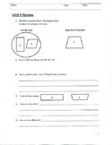 Unit 4 Review - Grade 3 Everyday Mathematics (Edition 4)