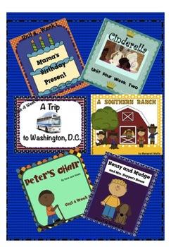 Reading Street Unit 4 SMARTboard Story Intro BUNDLE