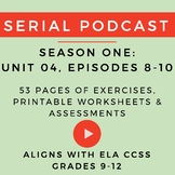 Unit 4: Serial Podcast Lesson Plans & Printable Worksheets