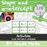 Unit 4 - Slope and y-intercept - Activities - 8th Grade Math TEKS
