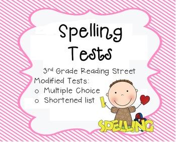 Unit 4 Spelling Test