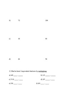 Unit 4 Study Guide (Everyday Math)