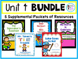 Journey's Unit 4 Supplemental Packet Bundle