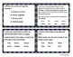 Unit 4 Task Cards - Year's Worth - Reading Review