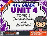 4th Grade - Unit 4 Topic 2 – Transportation and Movement – Part A