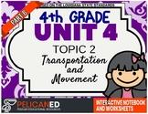 4th Grade - Unit 4 Topic 2 – Transportation and Movement – Part B