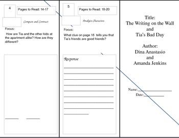 Unit 4 Trifolds for Benchmark Literacy