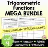 Trigonometric Functions MEGA Bundle with Lesson Videos (Unit 4)