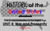 "Unit 4: ""War and Prosperity (WWI)"" 5th Grade Social Studie"