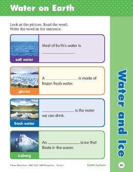 Unit 4: Water and Ice (Skill Sharpeners: Science)