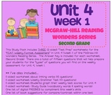 Unit 4, Week 1 Study Guide for Wonders Second Grade