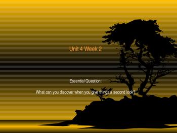 Unit 4 Week 2 Power Point Presentation Mc Graw Hill ELA Wonders Book