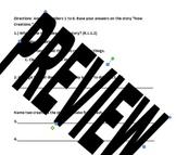 """Unit 4 Week 2 Treasures """"New Creations"""" FCAT Weekly Test C"""