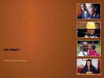 Unit 4 Week 3 Power Point Presentation Mc Graw Hill ELA Wonders Book
