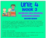 Unit 4, Week 3 Study Guide for Wonders Second Grade