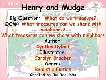 Unit 4 Week 6 - Lesson - Henry and Mudge - Lesson Bundle (2013, 2011, 2008)