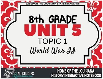 Louisiana History - Unit 4C - WWII - 8th Grade