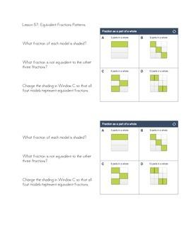 Unit 5- 4th grade Thrive Math Journals