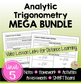 PreCalculus Analytic Trigonometry Bundle