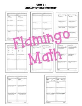 Analytic Trigonometry Activities & Assessments (PreCalculus - Unit 5)