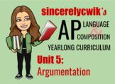 Unit 5: Argumentation