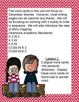 Unit 5 Buddy Sequence Writing